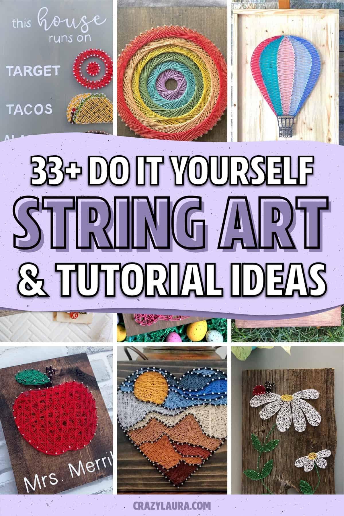 nail and string art ideas