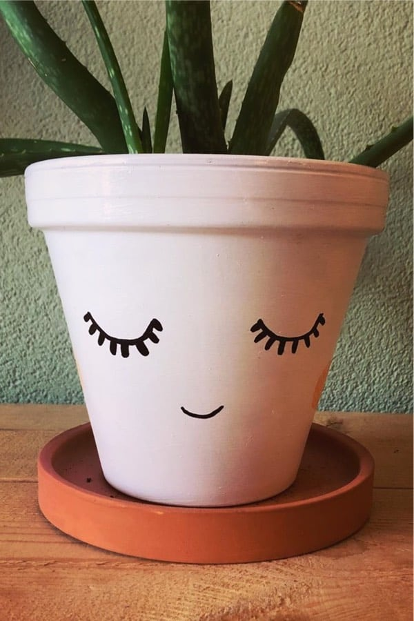 easy clay pot design examples