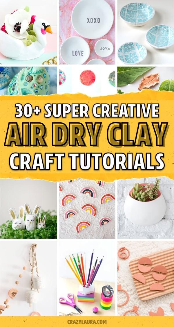 crayola clay craft ideas