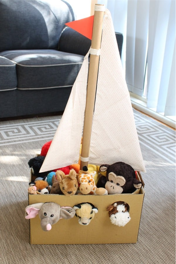 amazon cardboard box project for kids