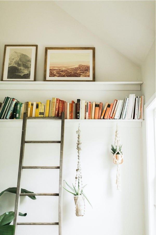 easy diy book ledge build