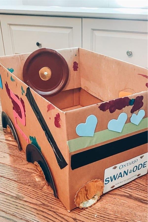 empty box craft ideas for kids