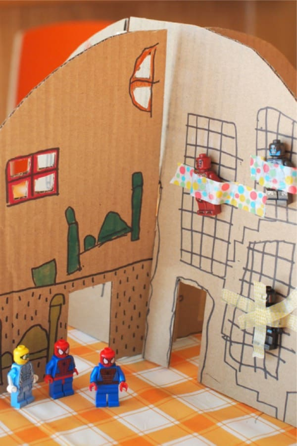 fun cardboard activity for kids toys