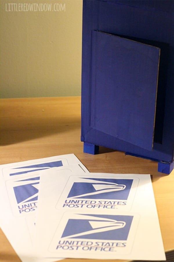 creative cardboard mailbox craft for kids