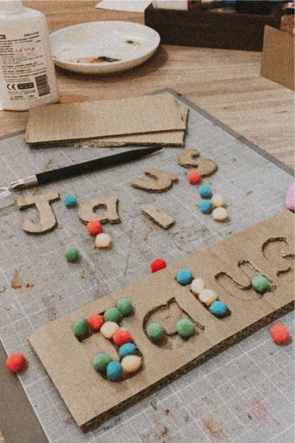 simple craft tutorials with cardboard