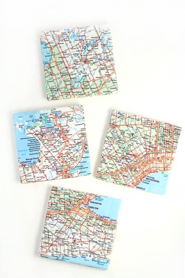 map coaster craft example