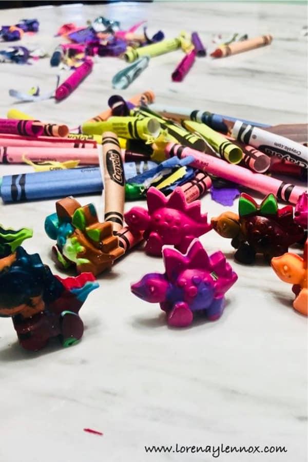 recycled crayon craft tutorial