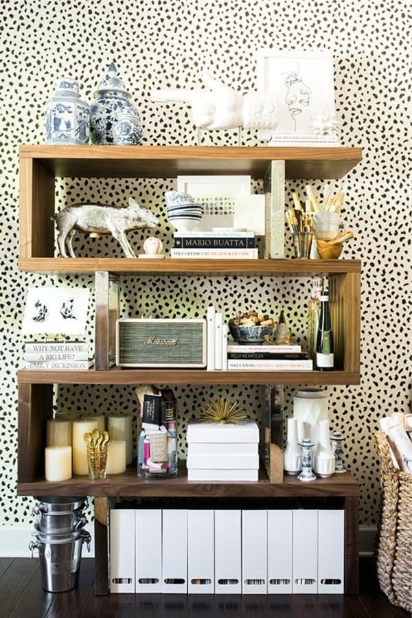 how to make a rustic bookshelf