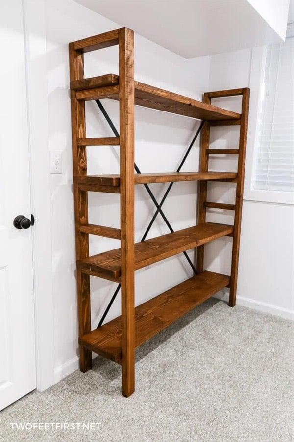 easy bookshelves with plans