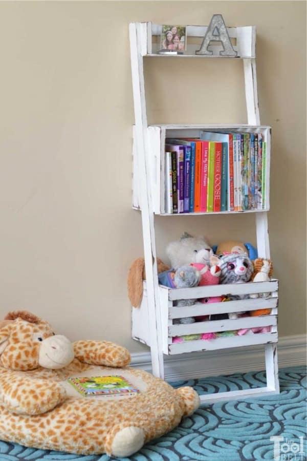 diy kids room bookshelf plans