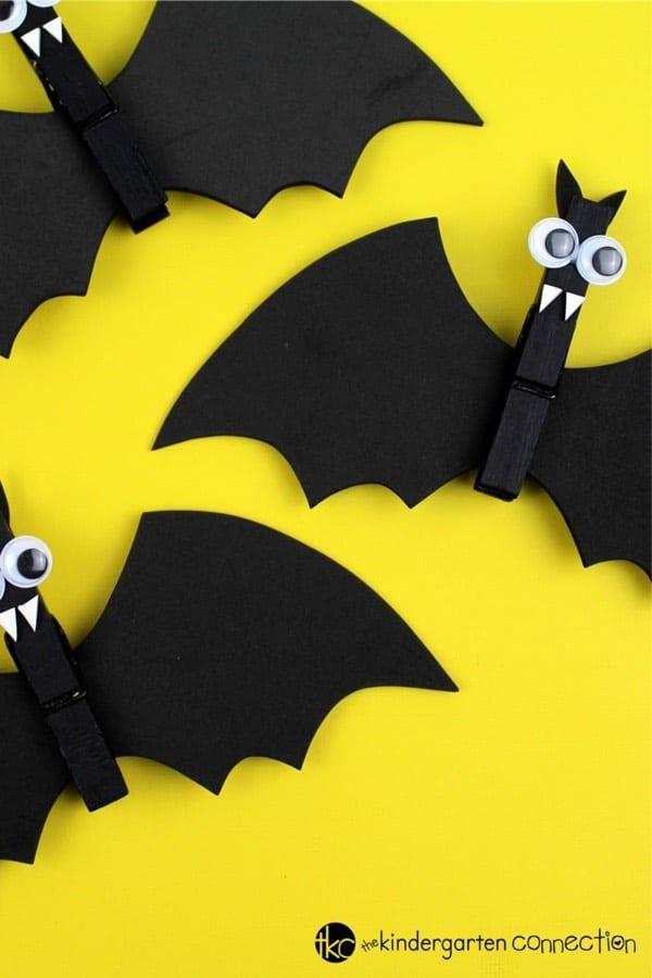 clothespin craft idea for halloween