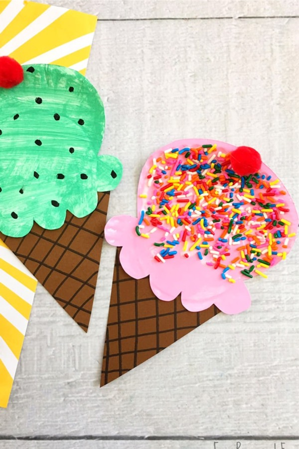 kids summer craft ideas with paper