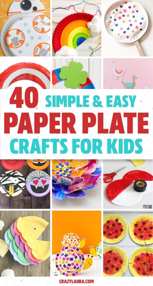 paper plate kids summer activities
