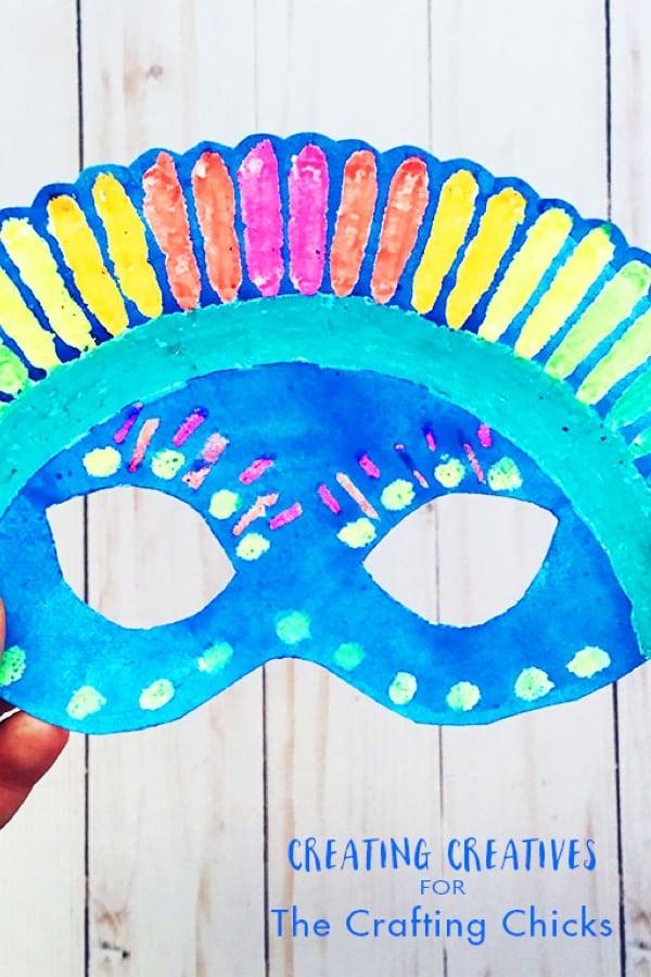 craft paper mask tutorial for kids