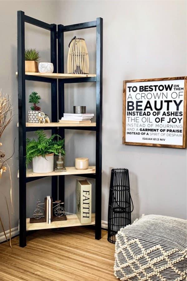 plans for ladder bookcase