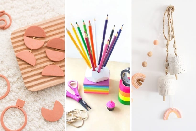 30+ Best Air Dry Clay Ideas & Craft Projects For 2020