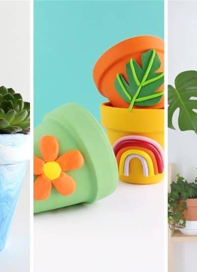 flower pot hacks for crafts