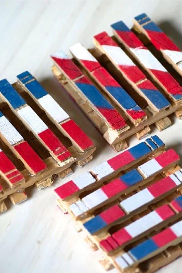 summer craft tutorial to make coasters