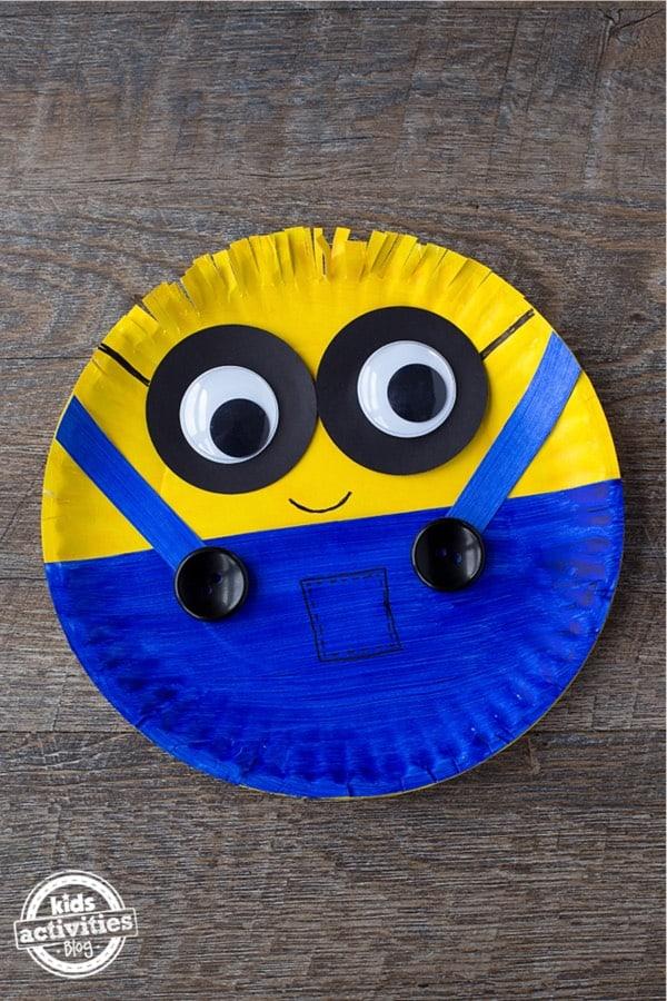 minion craft tutorial for kids