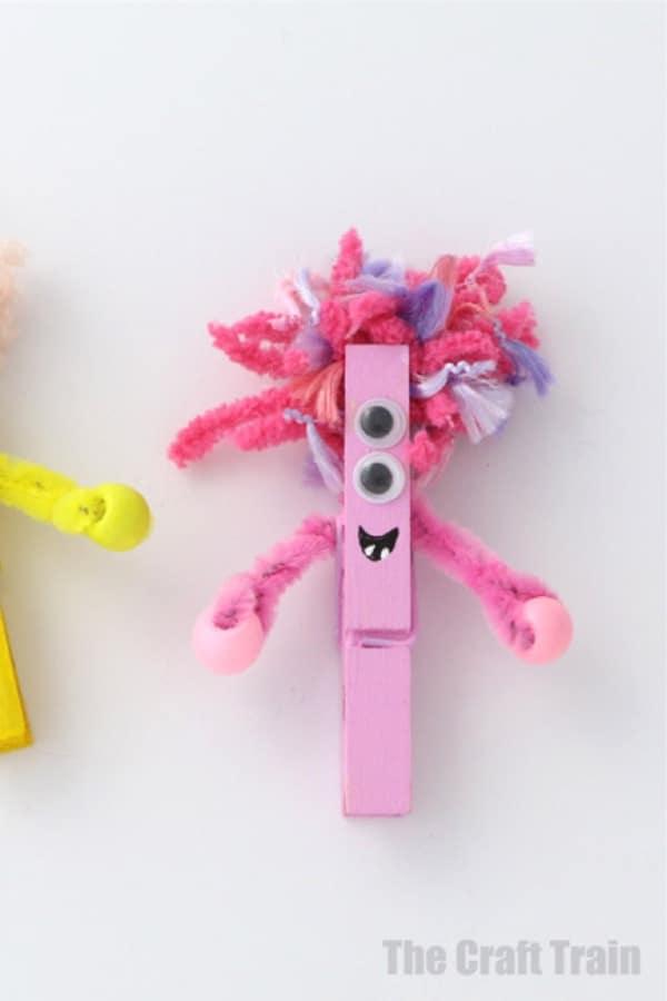 monster themed craft for kids