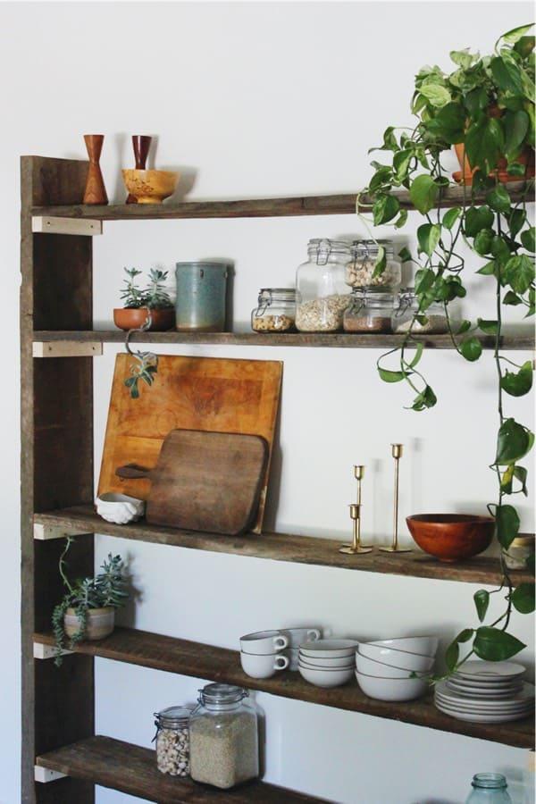 build bookshelf with left over wood