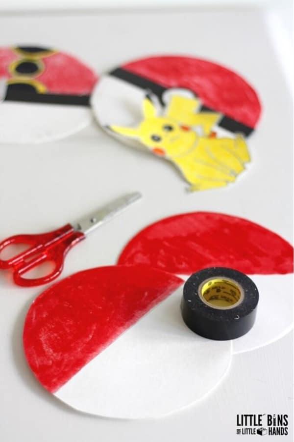 pokemon craft tutorial for kids