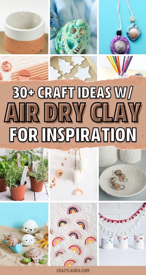 crayola clay craft project ideas