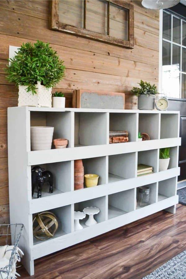 nesting bookshelf plans
