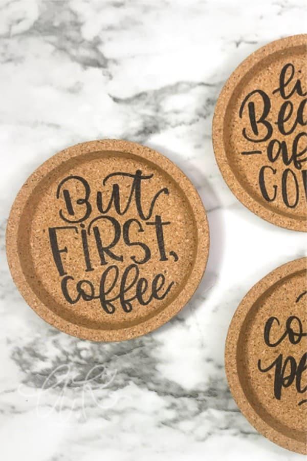 gift idea tutorial for diy coasters