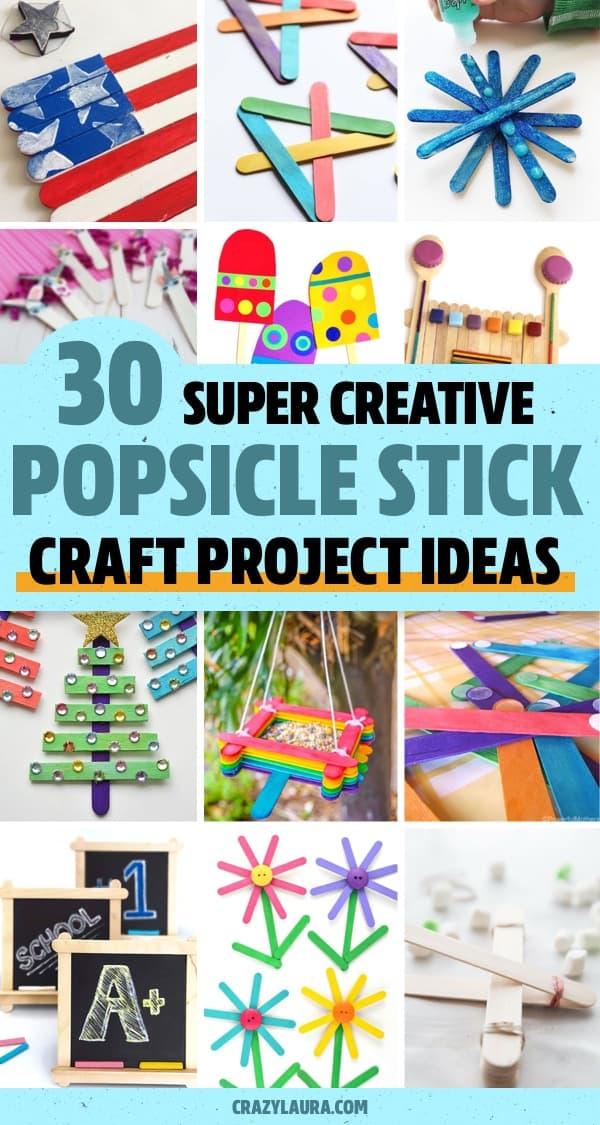 craft stick diy art