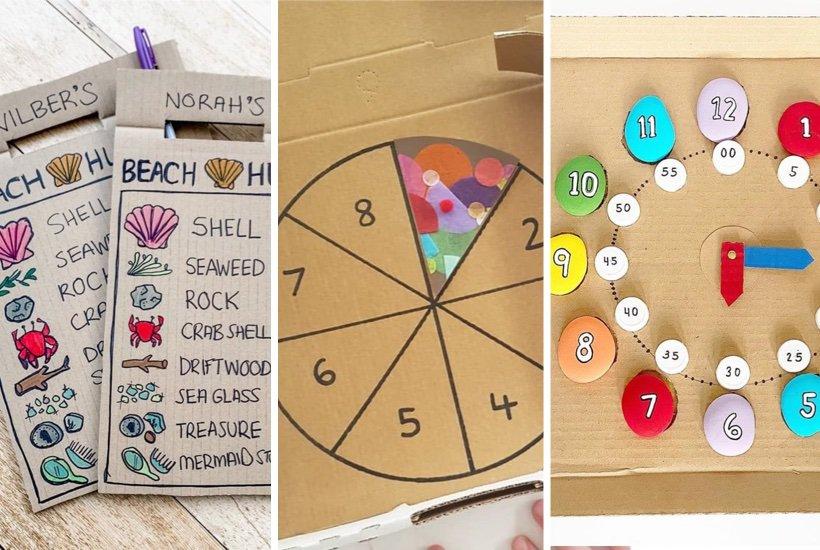 36+ Best Cardboard Crafts & Activities For Kids In 2020
