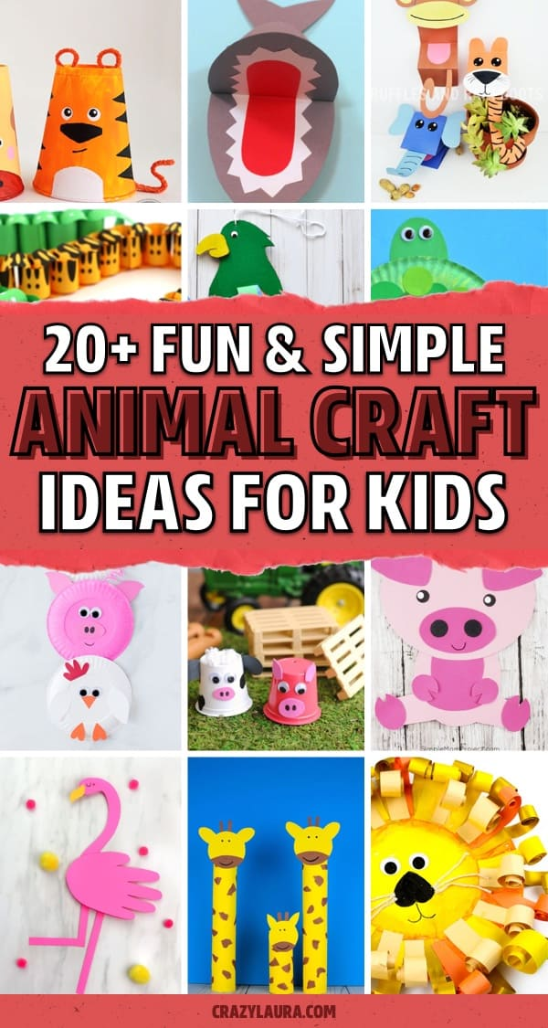 best animal craft activities for young kids