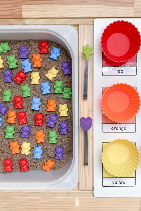 creative sensory bin example