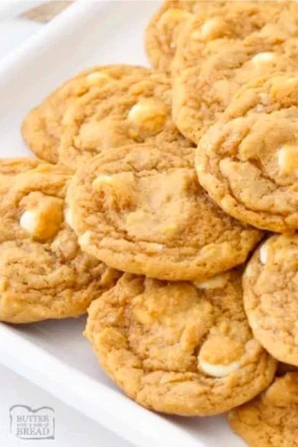 cookie recipe examples with pumpkin flavor