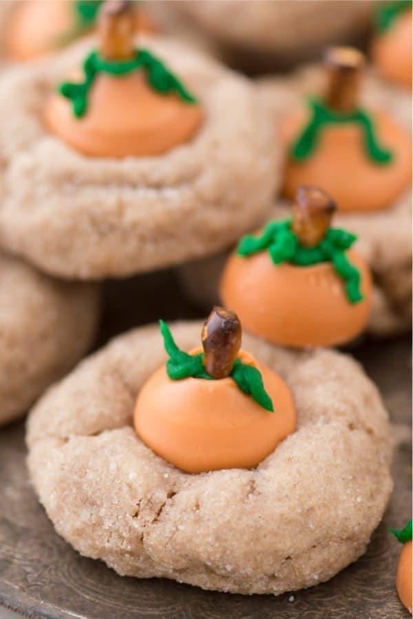 easy pumpkin cookie ideas