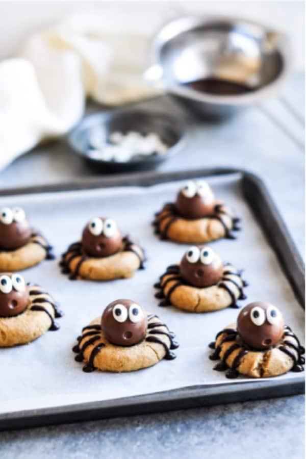 cute spider cookie recipe