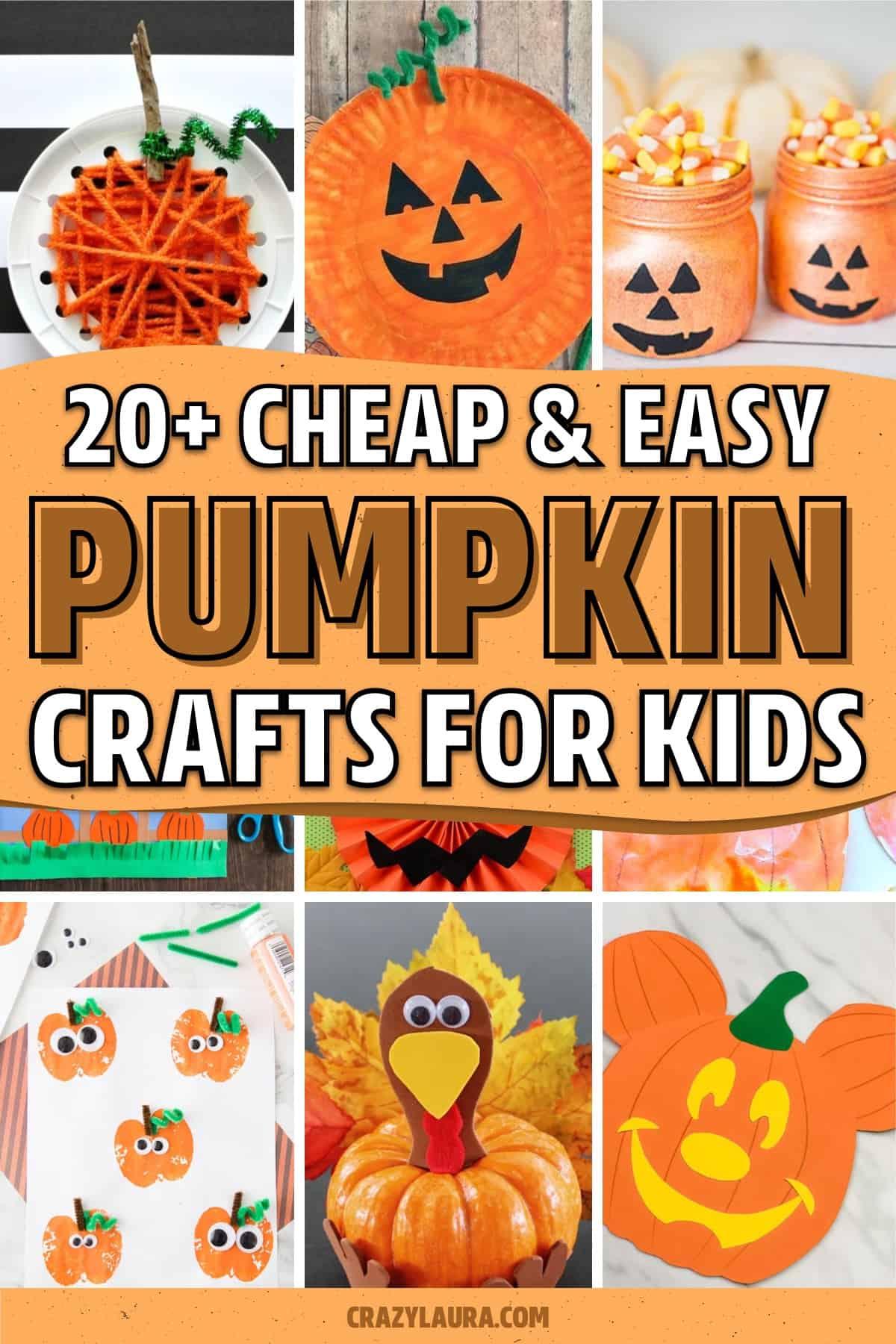 easy to make kids craft activities