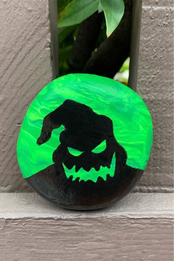 best spooky rock painting examples