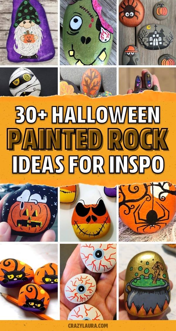 halloween themed rock hunt ideas