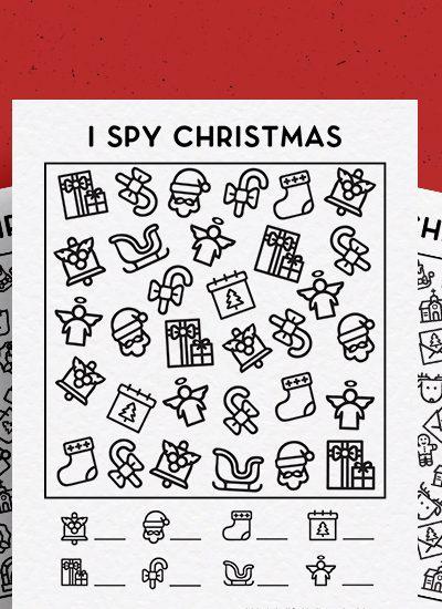 holiday printable game for kids