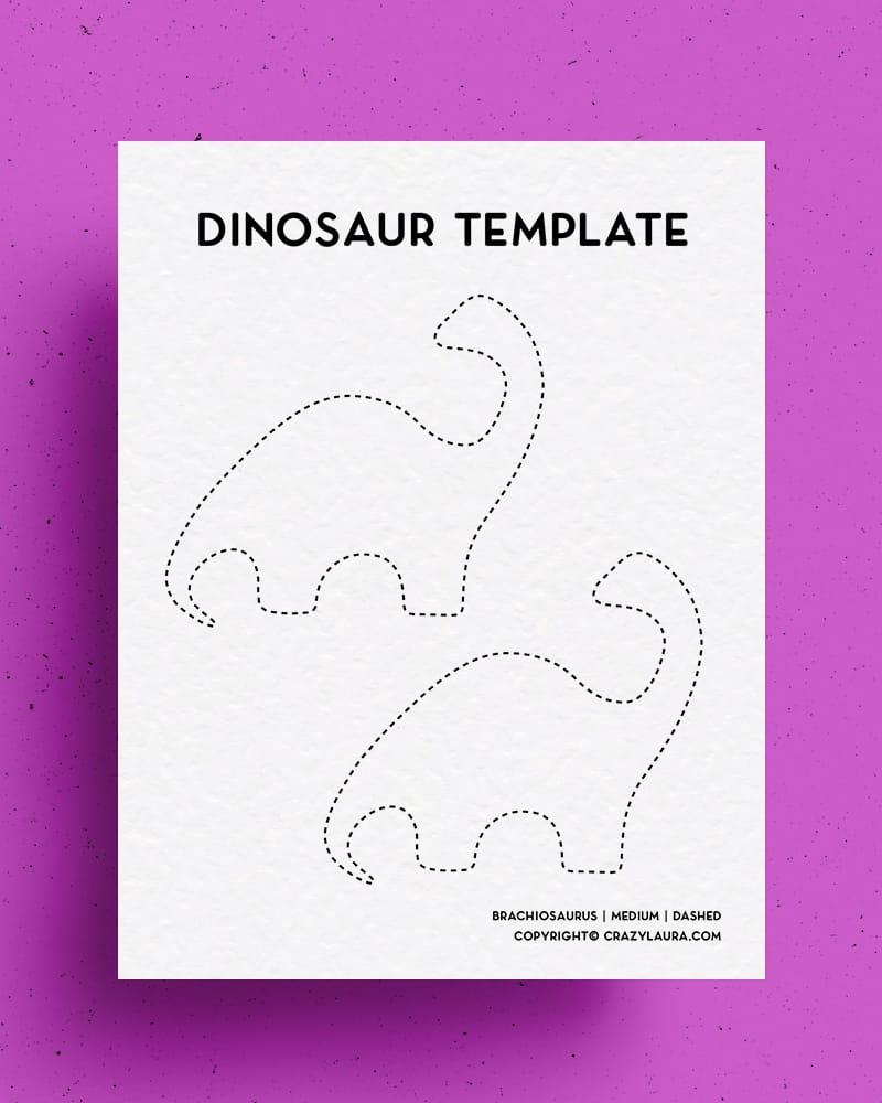 kids dinosaur free print off template