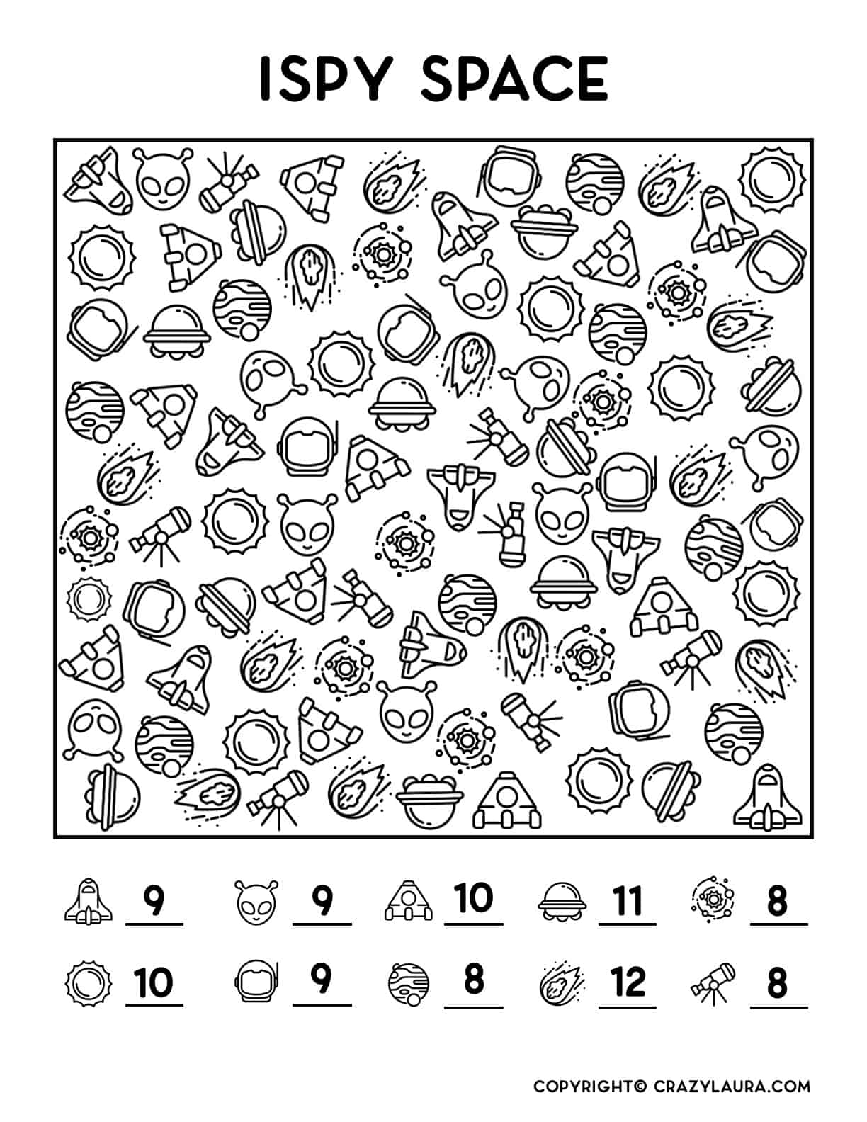 best i spy printable game for free