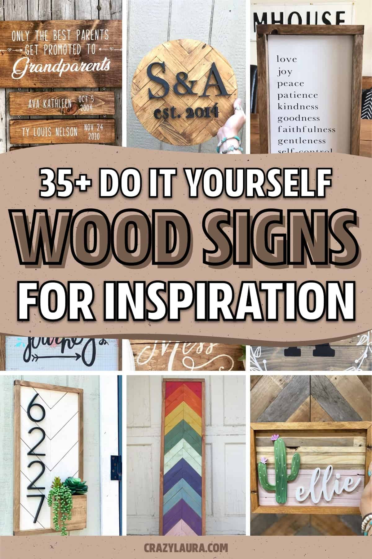make your own painted wood signs