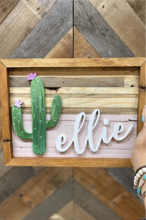 creative ideas for wooden signs