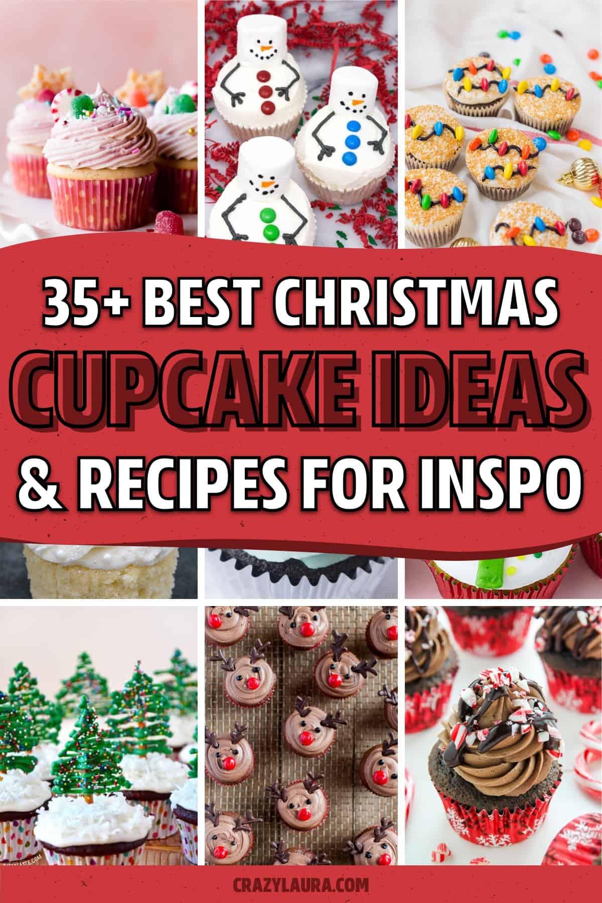 best recipes for christmas dessert cupcake