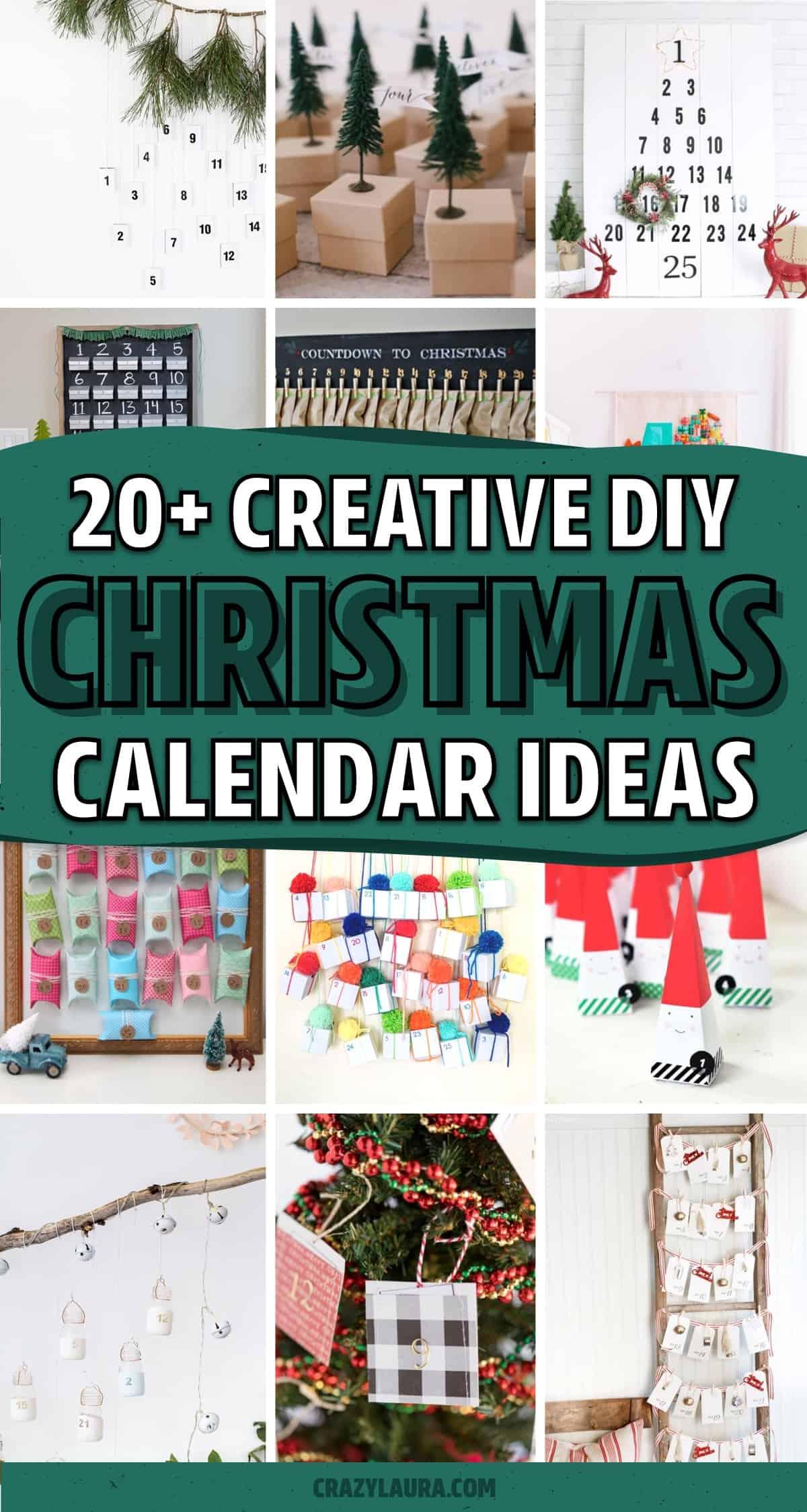 best craft tutorials for advent calendar