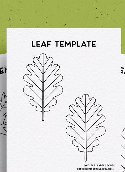 best free leaf printable pages