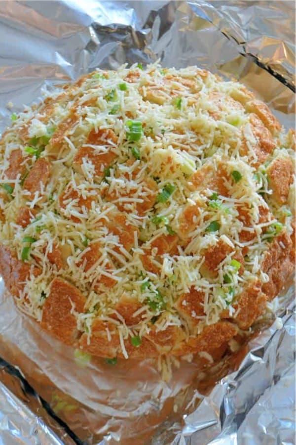 cheesy bread easy appetizer