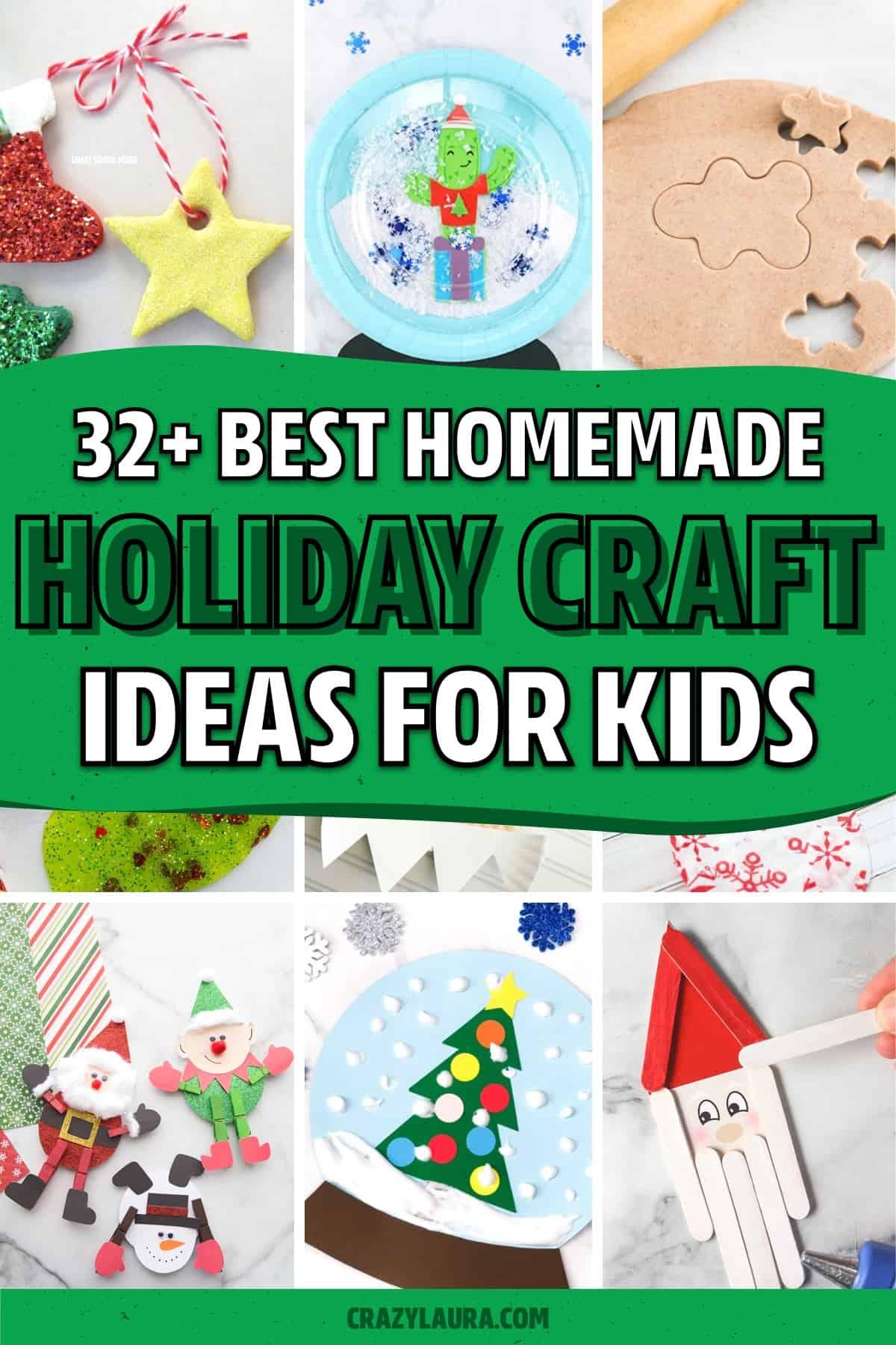 christmas break craft examples for kids