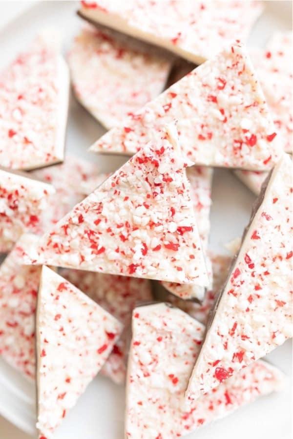 simple bark dessert recipe for christmas